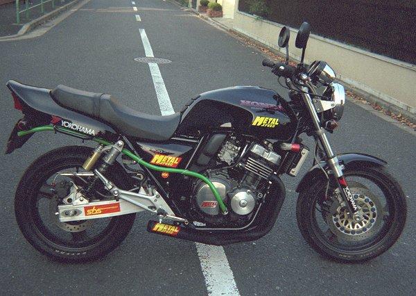 オートバイマフラー・CB400SF用スーパーショートマフラー by メタルスピード
