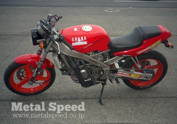 T250スパーダターボ最高速チャレンジ by メタルスピード