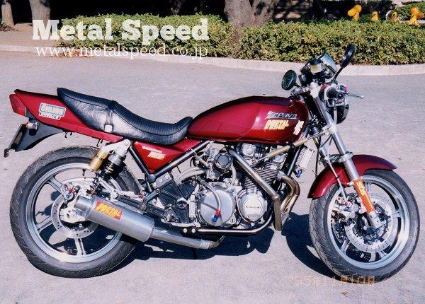 ゼファー400ターボ by メタルスピード