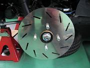 スバルサンバー用フェイクローター by メタルスピード