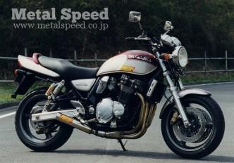 スズキ・イナズマ1200用スーパーショートミニマフラー by メタルスピード