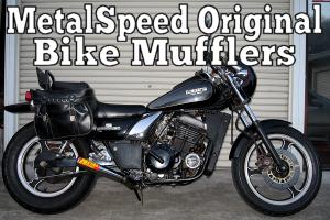 オリジナルオートバイマフラー by メタルスピード