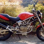 ホンダVTR250用トマホークマフラー