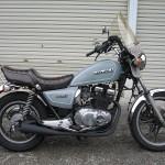 スズキGSX250L用ワンオフマフラー