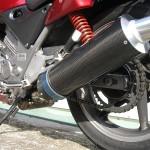 バイク・オートバイ用ワンオフマフラーのページを更新
