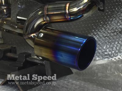 スバルサンバーマフラーオプション/チタンタイプ