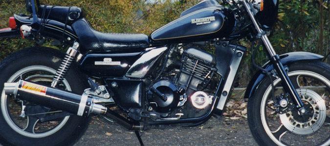 Kawasaki エリミネーター250用トルネードマフラー(カーボンタイプ)
