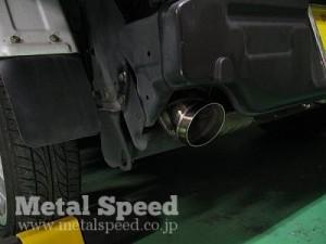 スバルサンバートラック用ワンオフマフラー(オールステンレス)